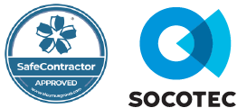 SafeContractor and Socotec Logos